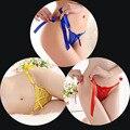 Mujeres sexy tanga transparente de encaje bragas calzoncillos tanga tanga underwear seamless underwear escritos de las mujeres tanga de satén