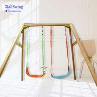 Gladswing Leaf Hanging Swing Children Indoor Outdoor Adjustable Hanging Hammock Chair Seat Kids Camping Toy 45