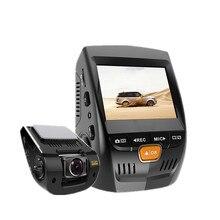 "Grado superior 2.4 ""coche Cámara GPS Logger Mini Grabador de Vídeo Full HD 1080 P coche DVR de la Visión Nocturna WDR Dash Cam Cuadro Negro Para coche"