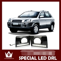 Car LED DRL Waterproof Hyundai Tucson LED Lights LED Daytime Running Light For Tucson
