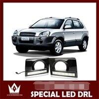 Car LED DRL Waterproof Hyundai Tucson LED Lights LED Daytime Running Light For Tucson