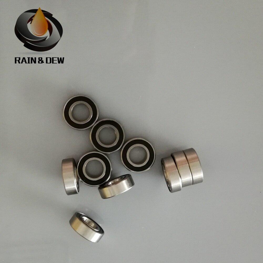 Hybride Céramique Roulement à Billes Roulements ABEC 8x16x5 mm Lot 4 7 688RS S688-2RS