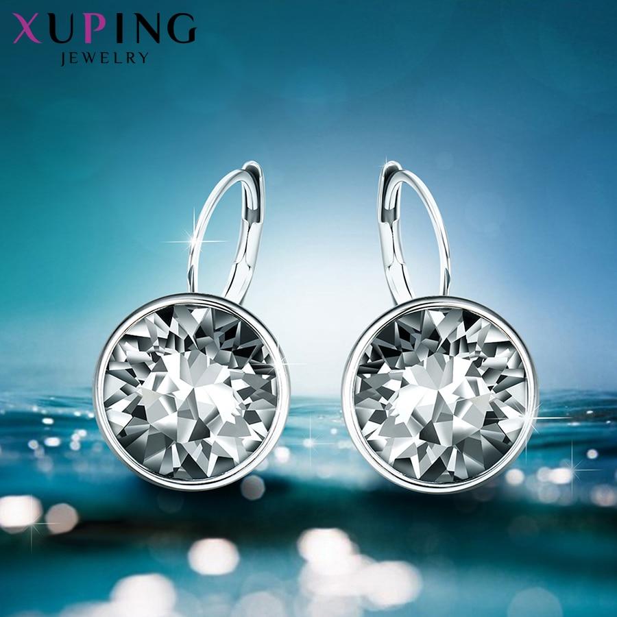 Xuping mode kristaller från Swarovski Färgglada örhängen med - Märkessmycken - Foto 6