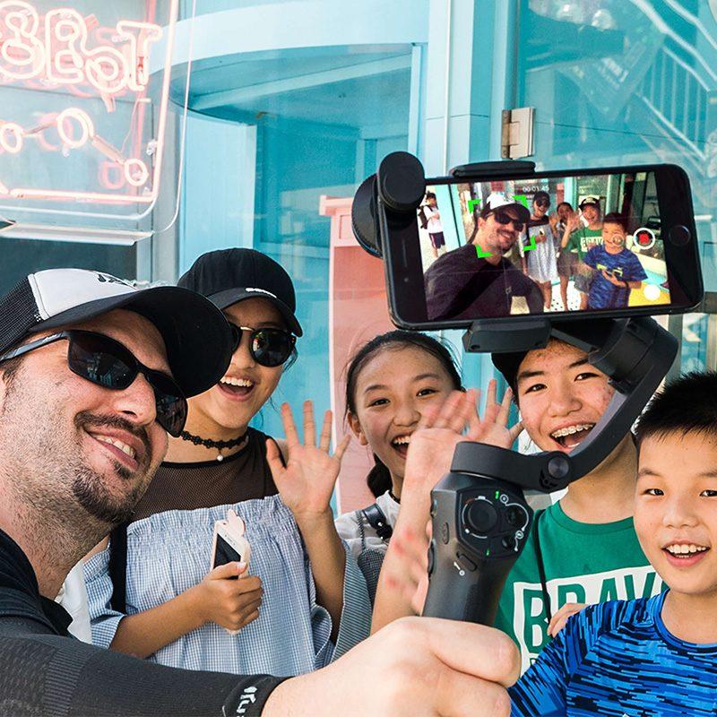 Atom 3 axis Складной Карманный ручной шарнирный стабилизатор для камеры GoPro Портативный телефон карданного подвеса для iPhone X huawei смартфоны для ...