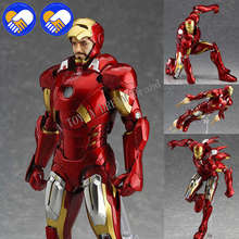 2019 NEW Figma MAX EX-018 The Avengers Ironman 15cm Marvels Iron Man Action Figure Model T