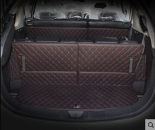Custom Special Trunk Mats For Mitsubishi Outlander 7seats Durable Waterproof Carpets For Outlander 7 Seats Lagguge Pad