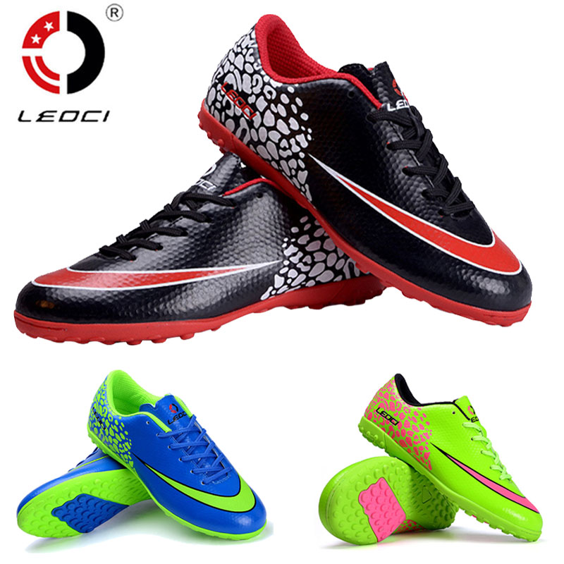 New Soccer Shoes Boots Futsal Chaussures Foot Mens indoor Football ...
