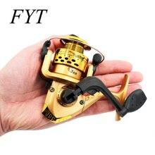 Спиннинговая катушка с алюминиевым корпусом, высокоскоростная G-Ratio 5,2: 1, Рыболовные катушки с леской, медная удочка, стойка для привода, рыболовные инструменты HY01
