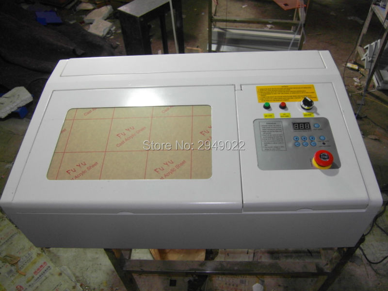 Latest MINI 2d 3d crystal laser engraving machine 2030 co2 50W Super quality with all functions