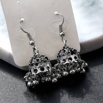 Fashion Metal Dangle Earrings Earrings Jewelry Women Jewelry Metal Color: M38179
