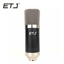 ETJ Marca 700B Profissional Microfone Condensador Microfone de Karaokê Microfone do Estúdio de Gravação Frete Grátis