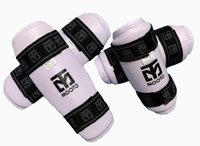 Тхэквондо бокс Налокотники и Arm Professional каратист-хранитель шестерни WTF CE удобные впитывают пот 4 шт./упак. бой победитель