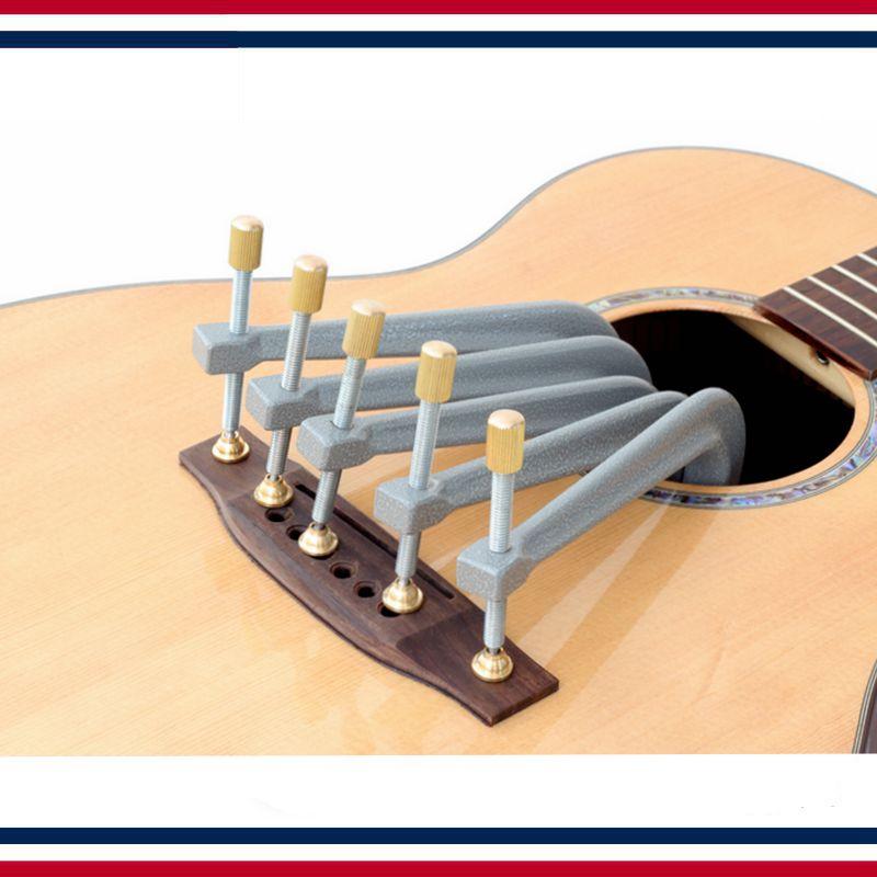 Outil de réparation de guitare-pince de réparation de colle ouverte pour guitare, pince de réparation ultralégère en aluminium pur (15 cm)