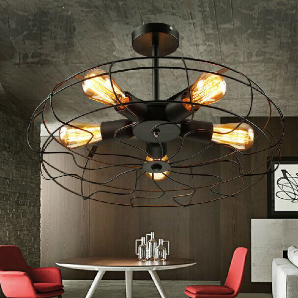 Compare prices on office ceiling fan online shopping buy for Country lighting fixtures for home