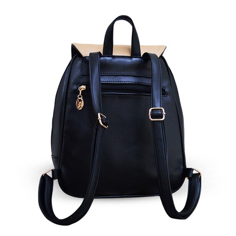 mochilas para adolescentes meninas mulheres Tipo de Estampa : Patchwork / Retalhos
