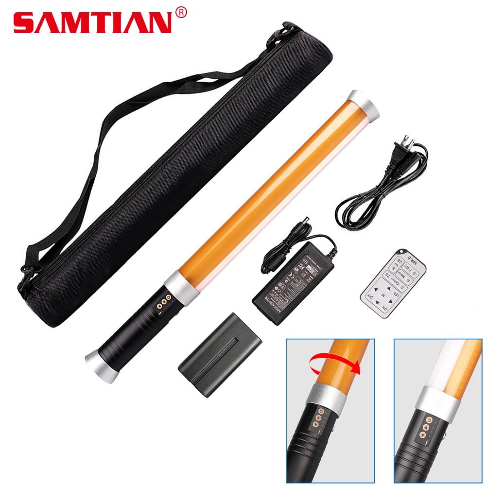 Lampe de MTL-900D magique de lumière visuelle portative de LED de SAMTIAN LED tube pour l'éclairage de photographie d'appareil-photo de Studio 298 LED 3200 K/5600