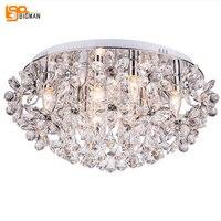 New Ceiling Crystal Light Modern LED Chandelier Living Room Lamps Lustres Indoor Lighting