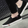 High Quality Men Canvas Shoes 2017 Spring Autumn Fashion Men's Casual Shoes Breathable Slip on Brand Shoes Soft Classic