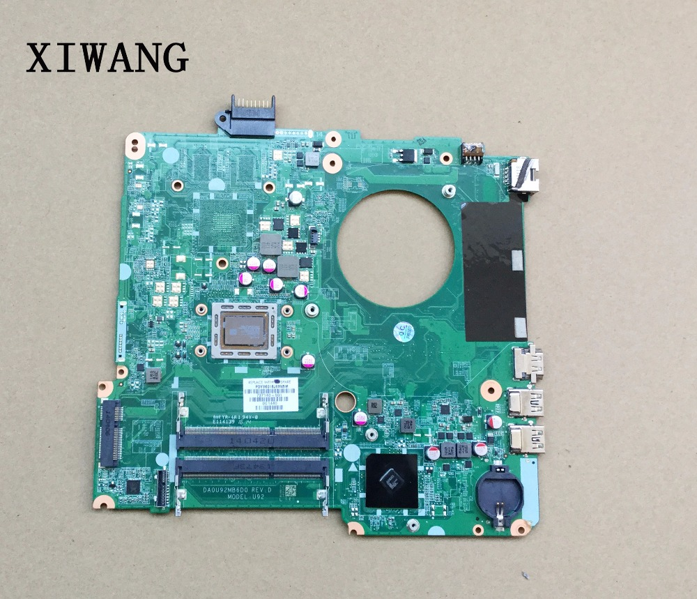 737140-501 737140-001 Free Shipping FOR HP PAVILION 15-N laptop motherboard DA0U92MB6D0 REV:D A8-4555M mainboard 100% tested 737140 501 737140 001 for hp pavilion 15 n laptop motherboard da0u92mb6d0 revd a8 cpu free shipping 100