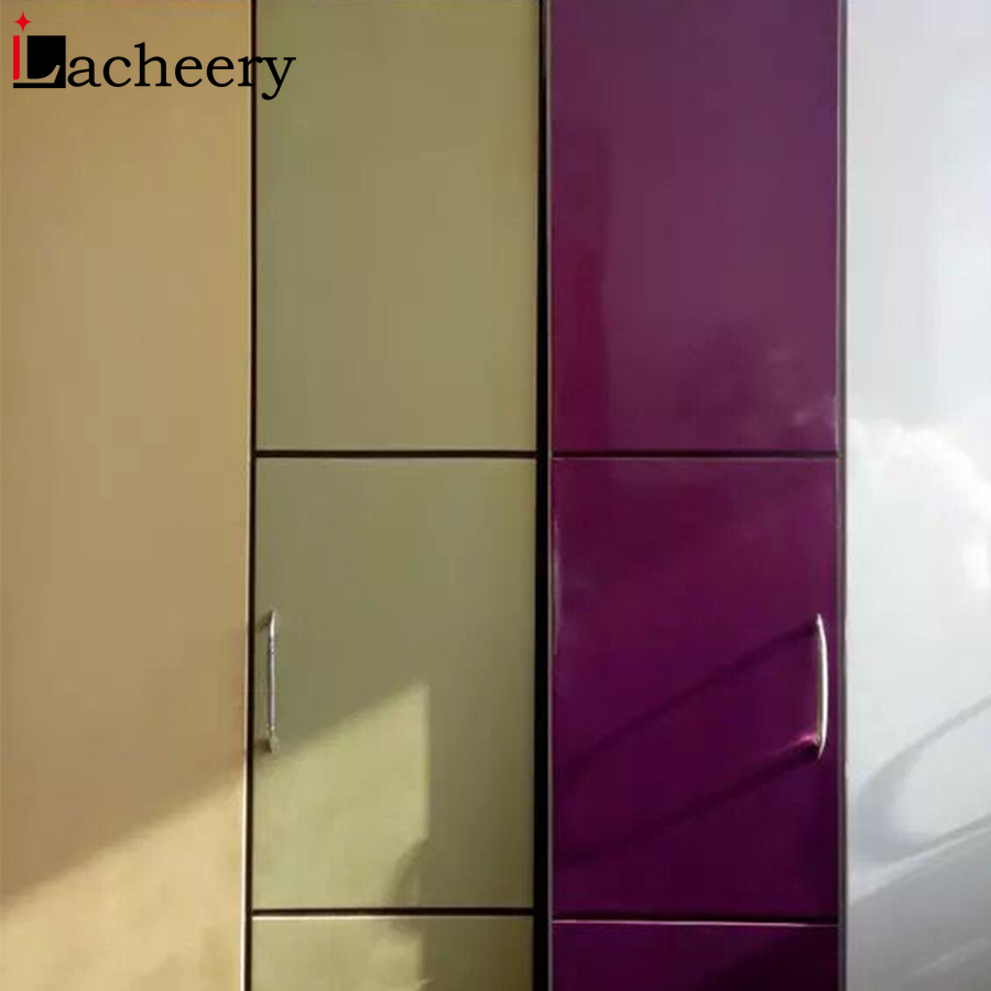 New 40cm Width Self Adhesive Wallpaper Cupboard Furniture Renovation Vinyl Films Cover Kitchen Cabinet Wall Stickers Home Decor in Wall Stickers from Home Garden