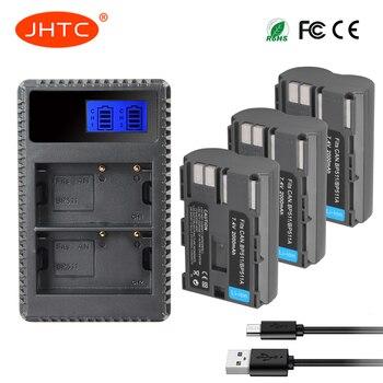 סוללה BP-511 BP 511 BP511 BP511A BP-511A סוללה או LCD USB מטען עבור Canon EOS 50D 40D 30D 20Da 20D 10D 5D 300D