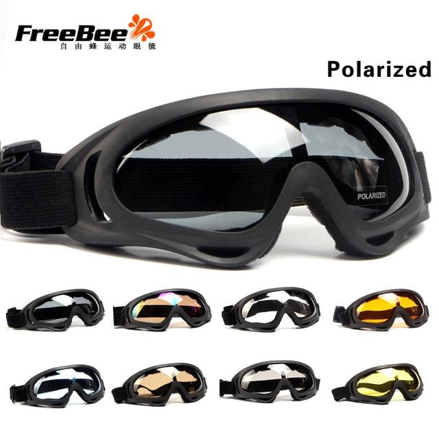 3d25078a6e03 Outdoor Cycling Skiing Eyewear Ski Snow Glass Goggles Snowboard Goggles UV  400 Protection Windproof Anti-Glare Moto Ski Googles