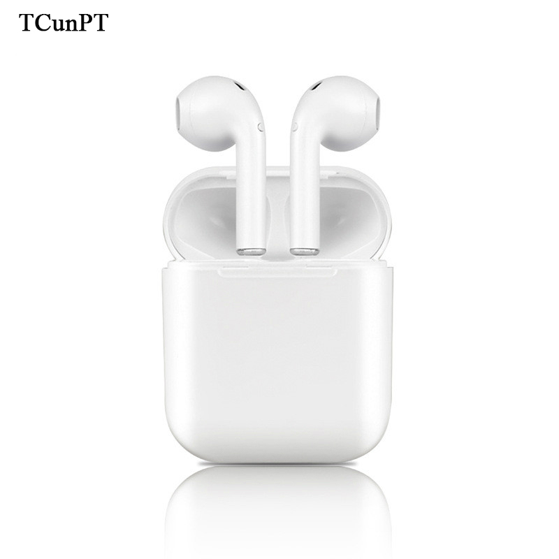 Tcunpt I9s Wireless Earphone Bluetooth Headset In Ear Invisible Earbud Headphone For Iphone 8 7 Plus 7 6 6s And Android Pk I7 Bluetooth Earphones Headphones Aliexpress