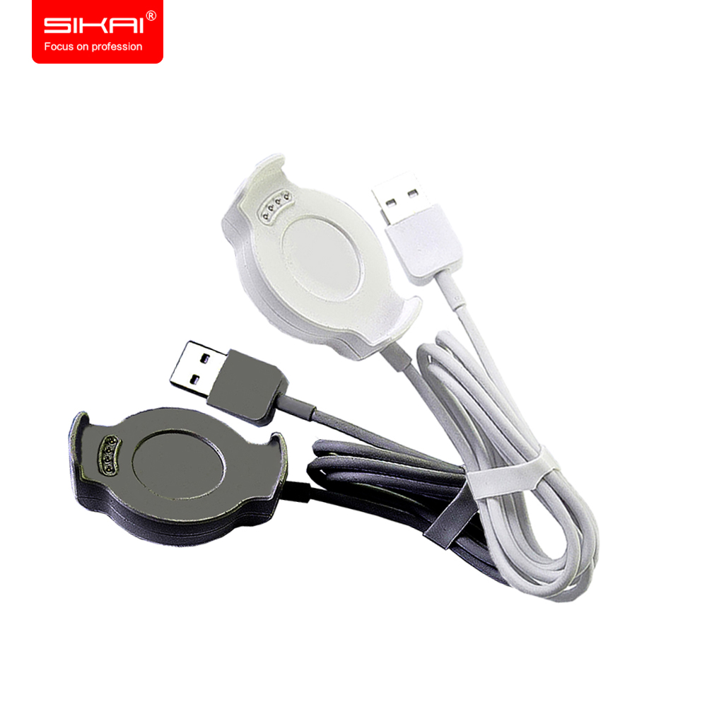 SIKAI Charger For Huawei Watch 2 Charger Dock Station Cradle Desktop USB Charging Cable For Huawei Watch Dock Charger Free Films