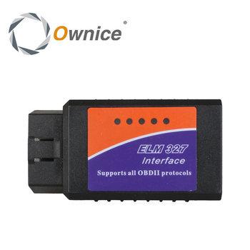 Tylko dla Ownice SAMOCHODOWY ODTWARZACZ DVD bezprzewodowy ELM327 bluetooth OBD ll i staje w sytuacji sam na sam w pokładowe systemy diagnostyczne tanie i dobre opinie OB327 V1 5 Diagnostic tool Bluetooth OBD 2 OBD ll System OBD2 Scanner Tool Guangdong China( Mainland )