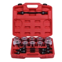 Multifuntion Tools 27pcs Press Pull Sleeve Kit Bushes Bearing Universal Tool Kit For Removal And Installation Of Bushes Bike Car