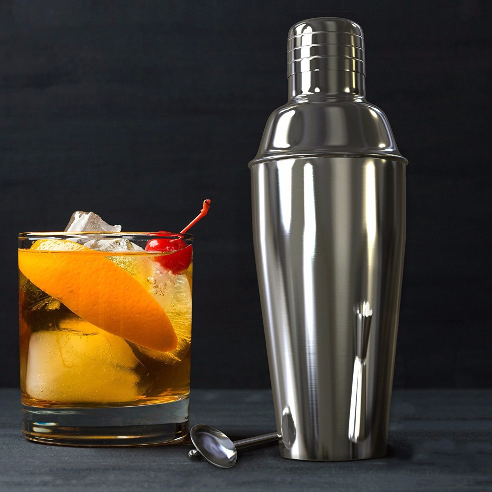 stainless steel cocktail shakers(China)