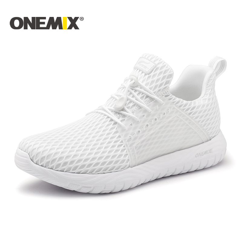 Onemix new summer running shoes for men unisex breathable mesh lightweight sneaker outdoor walking trekking shoes sports sneaker superga unisex 2750 cotu classic sneaker
