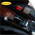 Assento de carro Caixa de Armazenamento de Bolso À Prova de Fugas Para Mercede s Benz W203 W210 W211 AMG W204 A B C E S GLA GLE CLA CLS CLK SLK GLK X164 X166