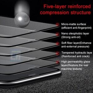 Image 2 - אין טביעת אצבע מלא כיסוי מט מזג זכוכית עבור iPhone X 8 7 6S בתוספת מסך מגן חלבית זכוכית עבור iPhone XS MAX XR סרט