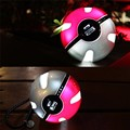 Pokeball Power Bank For Pokemons Go Dual USB External Battery 12000mah LED Fast Charger For Cosplay Games Pokemons Powerbank
