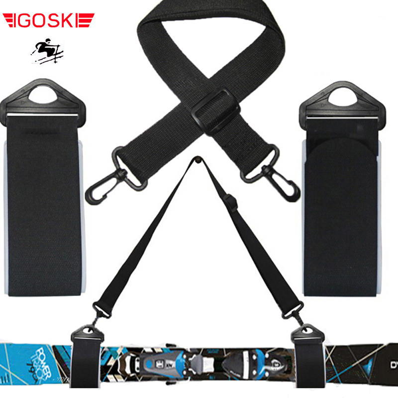 IGOSKI Ski and double cross country Nordic skiing snowboard alpine snow board detachable holder new complete book of cross country skiing rev