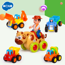 Купить с кэшбэком Baby Toys Bebe Presentes Learning Inercia Animis Brinquedos Carrinhos e Veiculos Free Shipping Huile Toys 326 & 366D-X