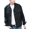Men's High Stree Coating Denim Jacket Male Fashion Hiphop Punk Jean Coat Spring Autumn Mens Loose Cowboy Jacket
