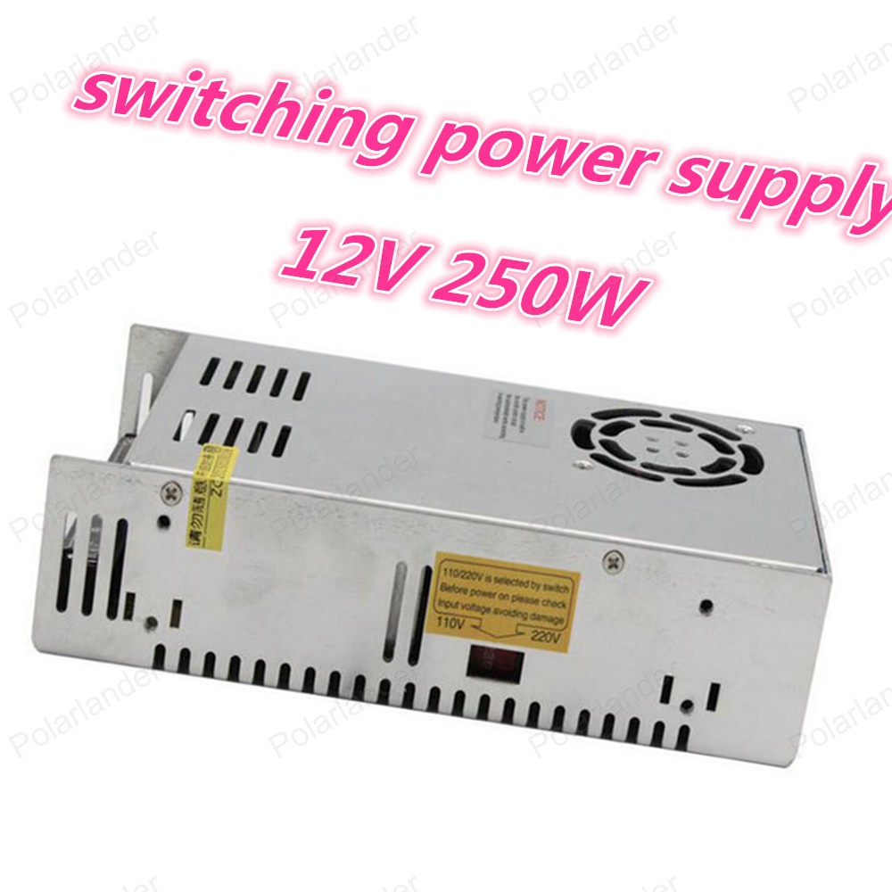 Top quality High efficiency single output switching power supply 250W 12V