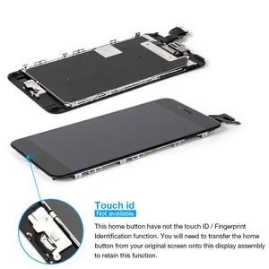 """Image 2 - A1634 A1687 A1699 tam set ekran Apple iPhone 6S artı LCD dokunmatik sensör sayısallaştırıcı meclisi 5.5 """"ekran ev düğmesi + hoparlör"""