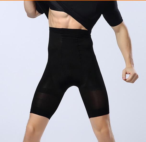 Men Waist Cincher Control Panties Slimming Thigh Underwear Breathable Tummy Trimmer Shaper Lift Butt Panty 1