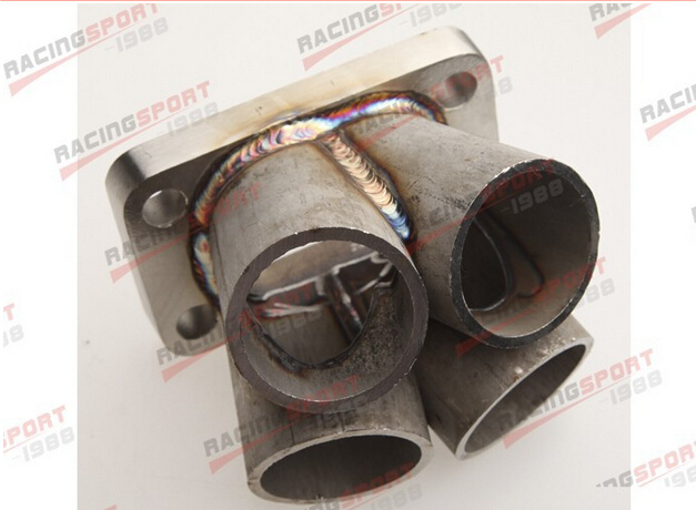 4-1 4 Cylinder Manifold Header Merge Collector Stainless Steel T4 Flange ETM41-2B цены онлайн