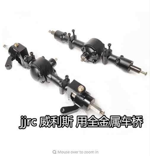 JJRC Q65 1:10 2,4G Convertible Jeep RC coche piezas de repuesto motor servo eje neumático delantero eje trasero receptor barra de dirección, etc.