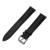 18mm Primeira Camada Genuína Pulseira de Couro Alça de Liberação Rápida para huawei watch/fit honor s1 cinto banda pulseira de pulso preto
