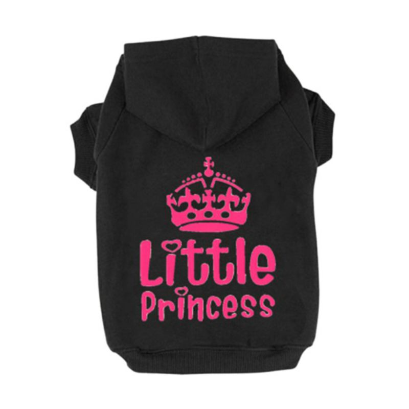 Trajes Princesa Princesa Corona Impreso Pet Dog Sweater Dog Hoodies - Productos animales - foto 3