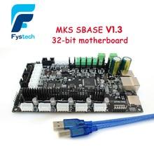 3D принтер 32bit Arm платформы Гладкую управления МКС SBASE V1.3 с открытым исходным кодом MCU-LPC1768 совместимость Smoothieware