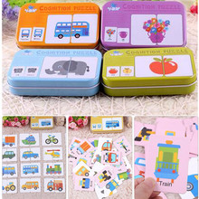 Baby Enlightenment Cognitive Early Education Training Card Stimulates 0-3 Years Old Babies Toys Literacy Cards