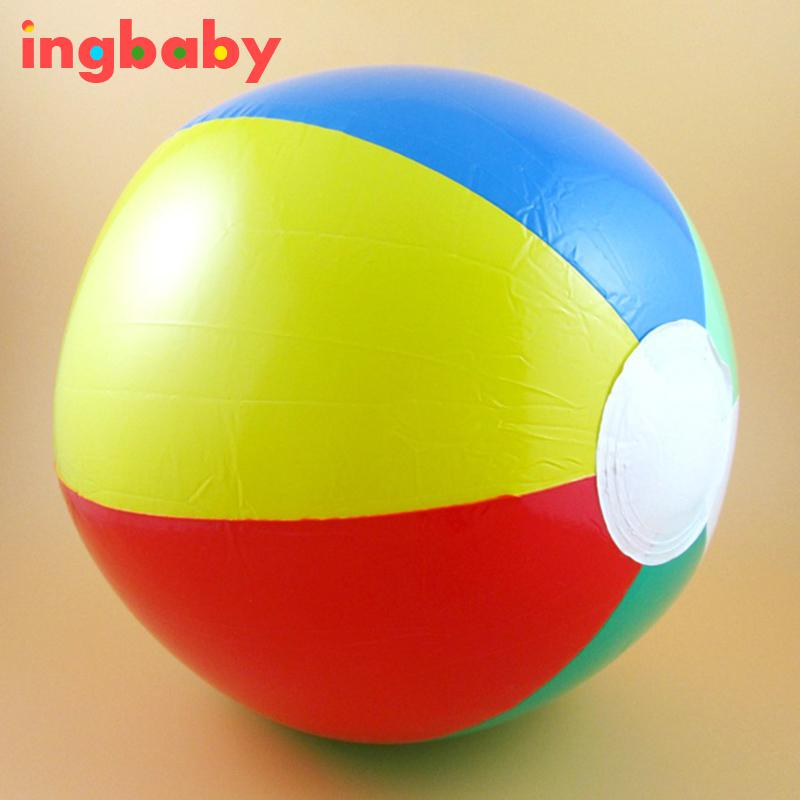 beach ball in ocean. 1pc Diameter 22cm Color PVC Inflatable Beach Ball Six Ocean Children Summer Bath Toy Ingbaby-in Balls From Toys In B