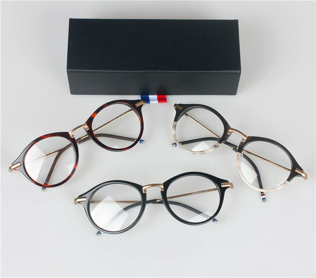 ea8d3b475d50 2016 THOM BROWNE TB-808 reading eyeglasses men and women top quality myopia  eye glasses frames TB808