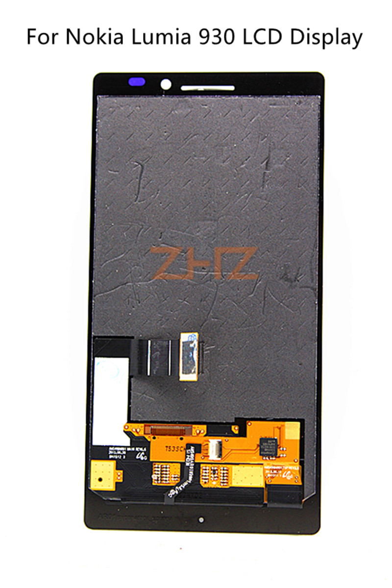 Per Nokia Lumia 930 Display LCD Touch Screen Digitizer Assembly Con Cornice Display A CRISTALLI LIQUIDI per Nokia Lumia 930 Parti di RicambioPer Nokia Lumia 930 Display LCD Touch Screen Digitizer Assembly Con Cornice Display A CRISTALLI LIQUIDI per Nokia Lumia 930 Parti di Ricambio